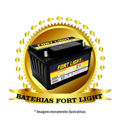 Baterias automotivas fort light